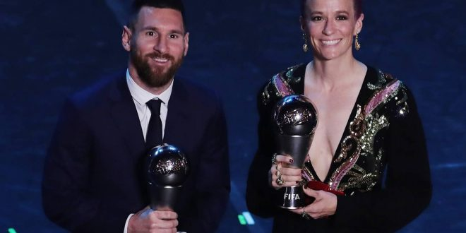 Best FIFA Football Awards 2019 Winners: Lionel Messi, Megan Rapinoe Win Top Prizes