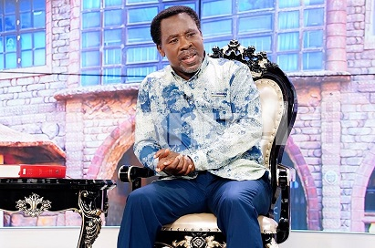 TB Joshua Offers To Pray For COVID-19 Patients In Isolation Centre