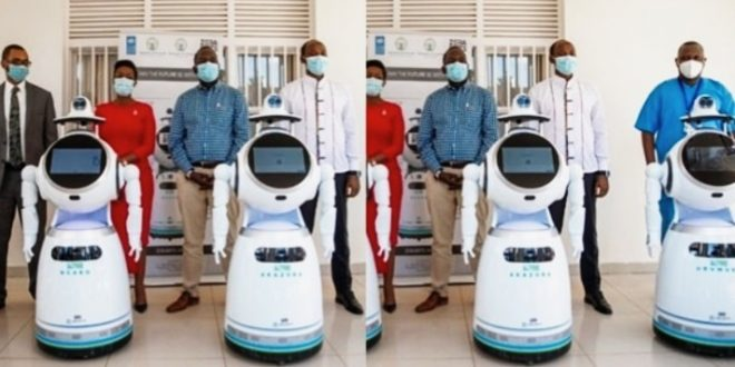 Covid-19: Rwanda Acquires Robots Capable Of Screening 50-150 People A Minute
