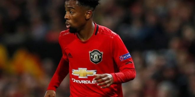 Man United Offer New Contract To Angel Gomes After Old Videos Of Him At TB Joshua's Church Emerged