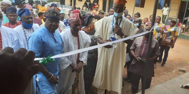 Gov Abiodun Commissions Health Centre, Borehole Projects In Sagamu Local Government