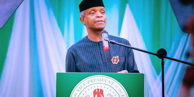 COVID-19 PANDEMIC: OPPORTUNITY TO IMPROVE HEALTHCARE OSINBAJO TELLS FG, PUBLIC HEALTH AGENCIES, EXPERTS