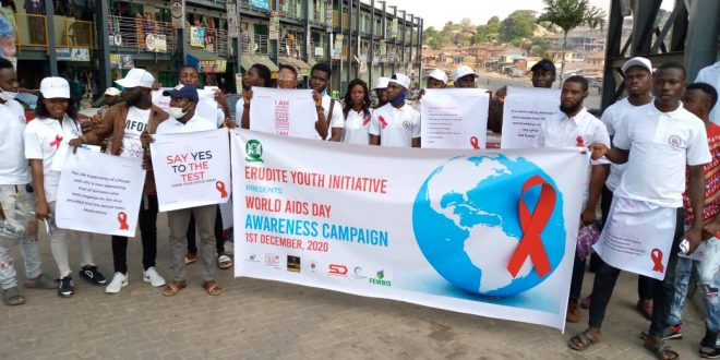 International World AIDS Day: Youths Sensitise Ogun Residents On Reduction In Spread Of HIV, AIDS