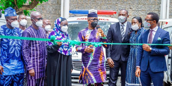 Healthcare: Ogun Receives Three Ambulances From BUA Group