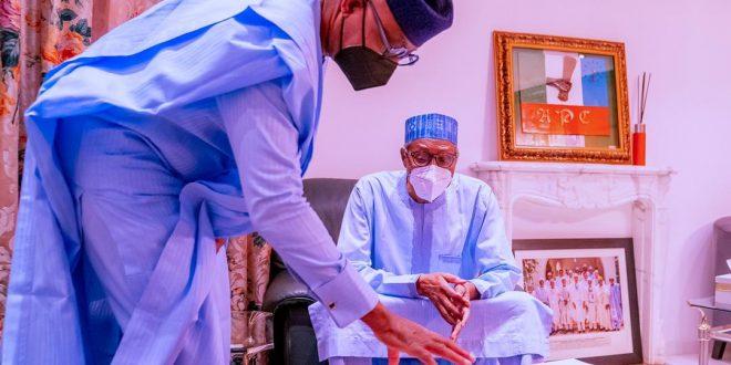 Abiodun Presents 2 Year Score Card Records To Buhari