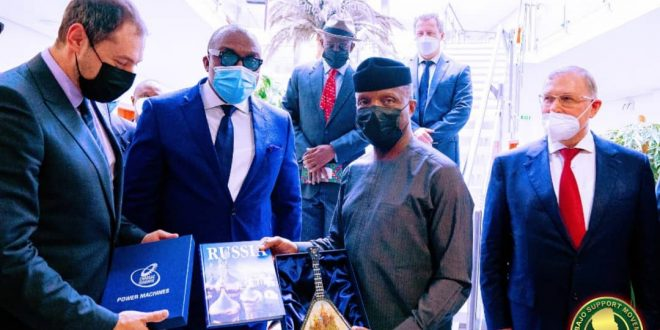 NEW NIGERIA-RUSSIA CHAMBER OF COMMERCE, OPPORTUNITY TO CONSOLIDATE TRADE, BUSINESS – OSINBAJO